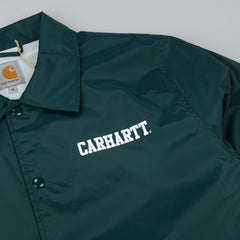 Carhartt College Coach Jacket - Parsley