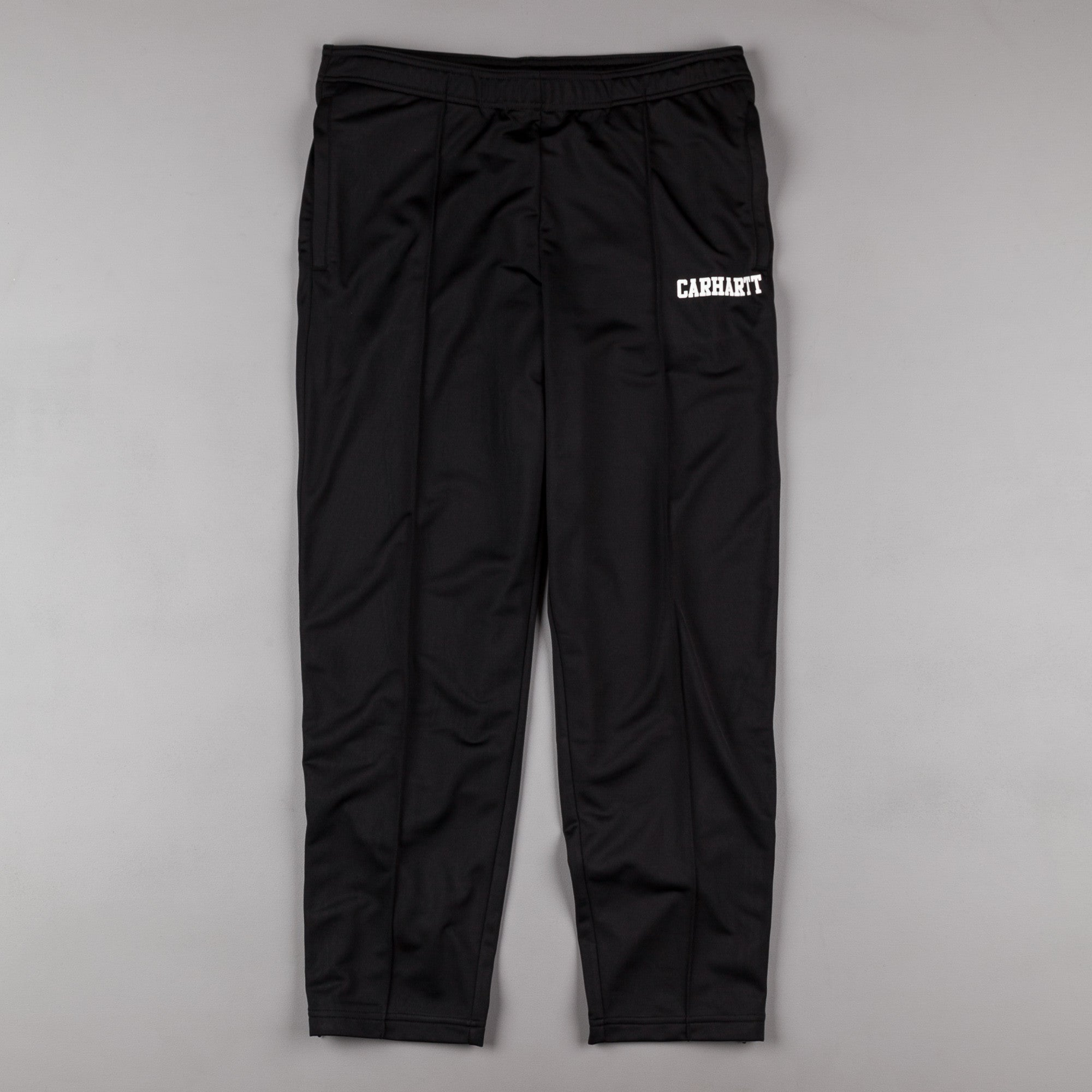 Carhartt College Track Sweatpants - Black / White