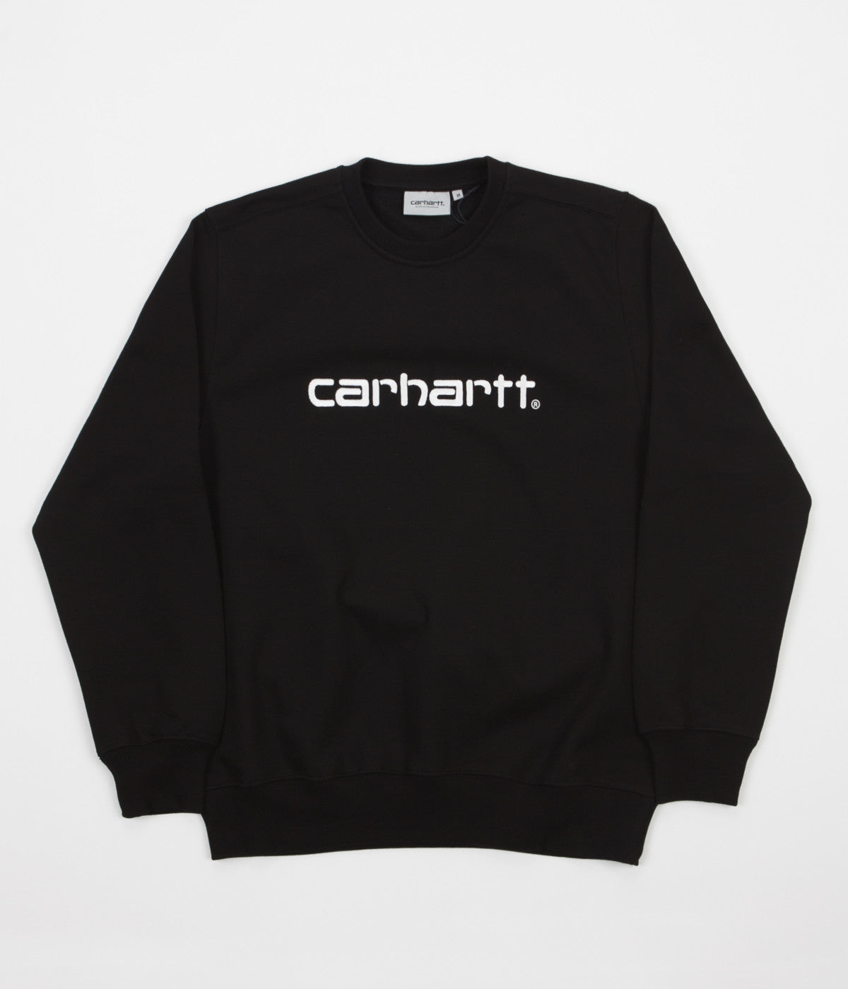 Carhartt Crewneck Sweatshirt - Black / Wax