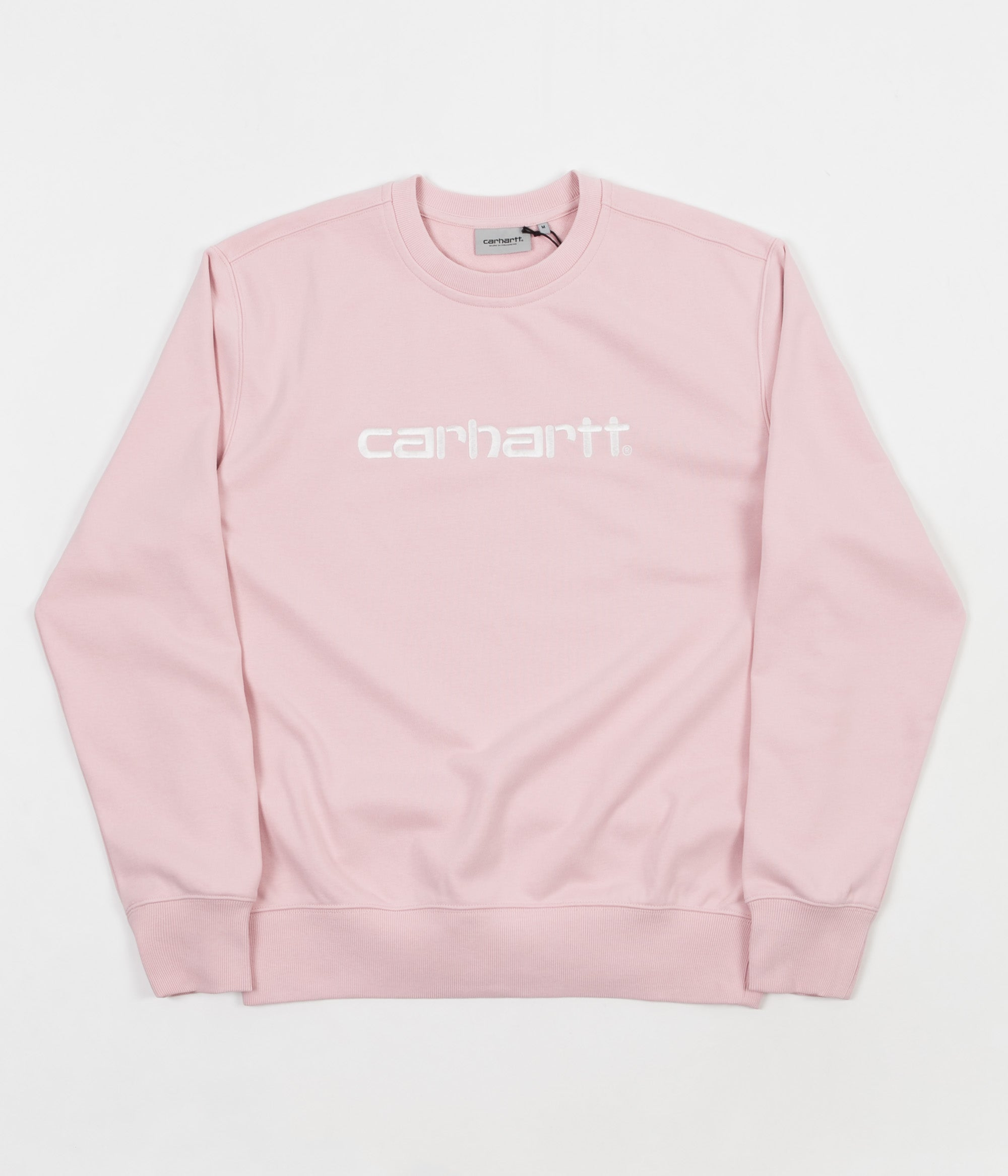 Carhartt Crewneck Sweatshirt - Sandy Rose / Wax