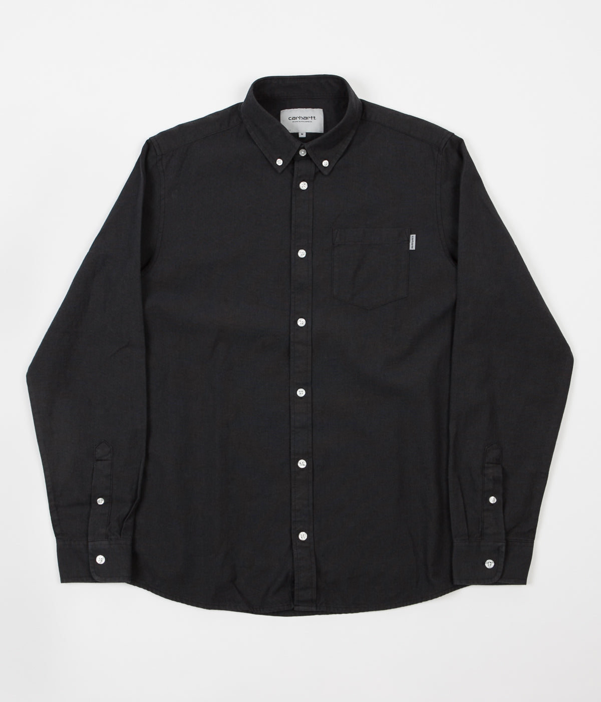 Carhartt Dalton Shirt - Black / Blacksmith