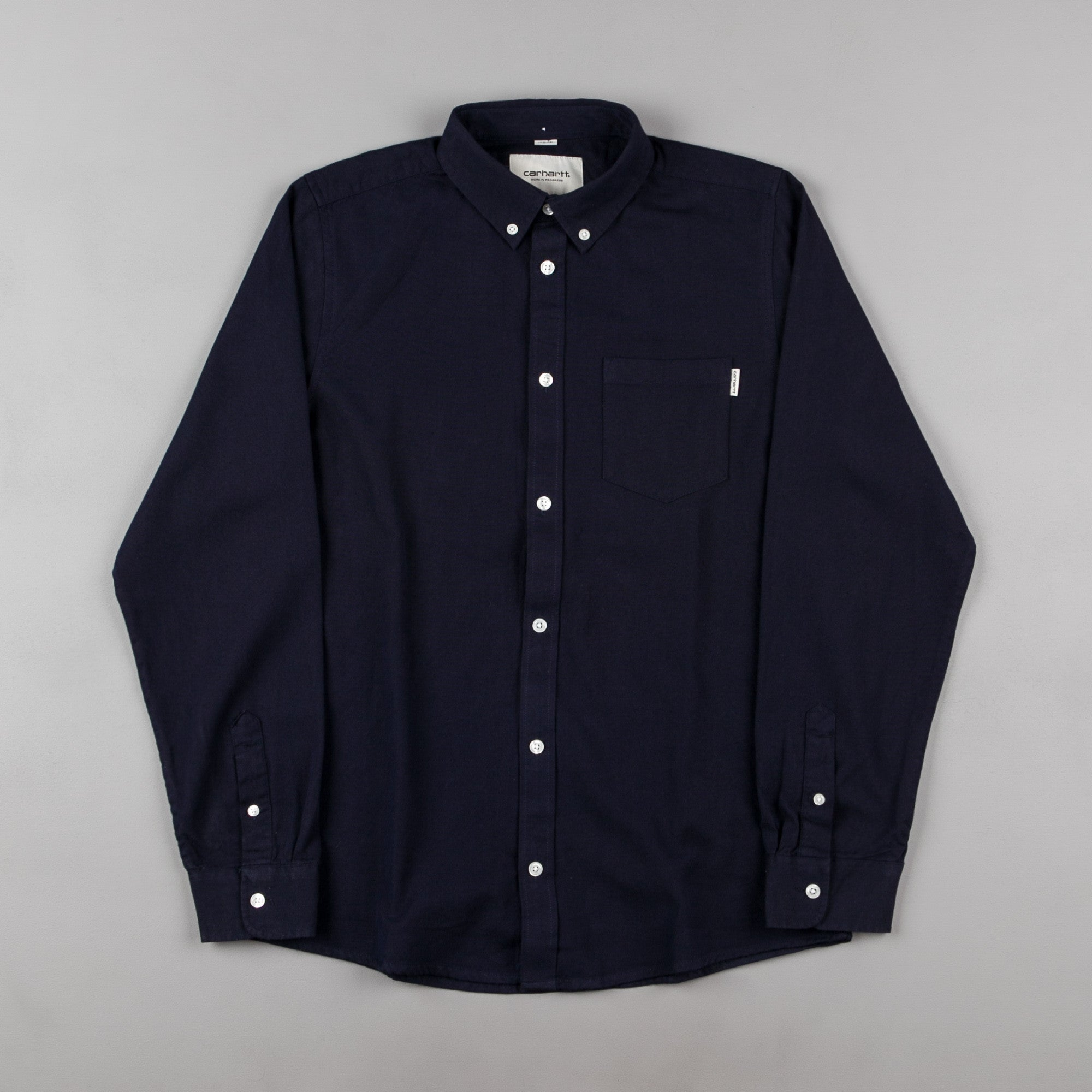Carhartt Dalton Shirt - Blue / Black