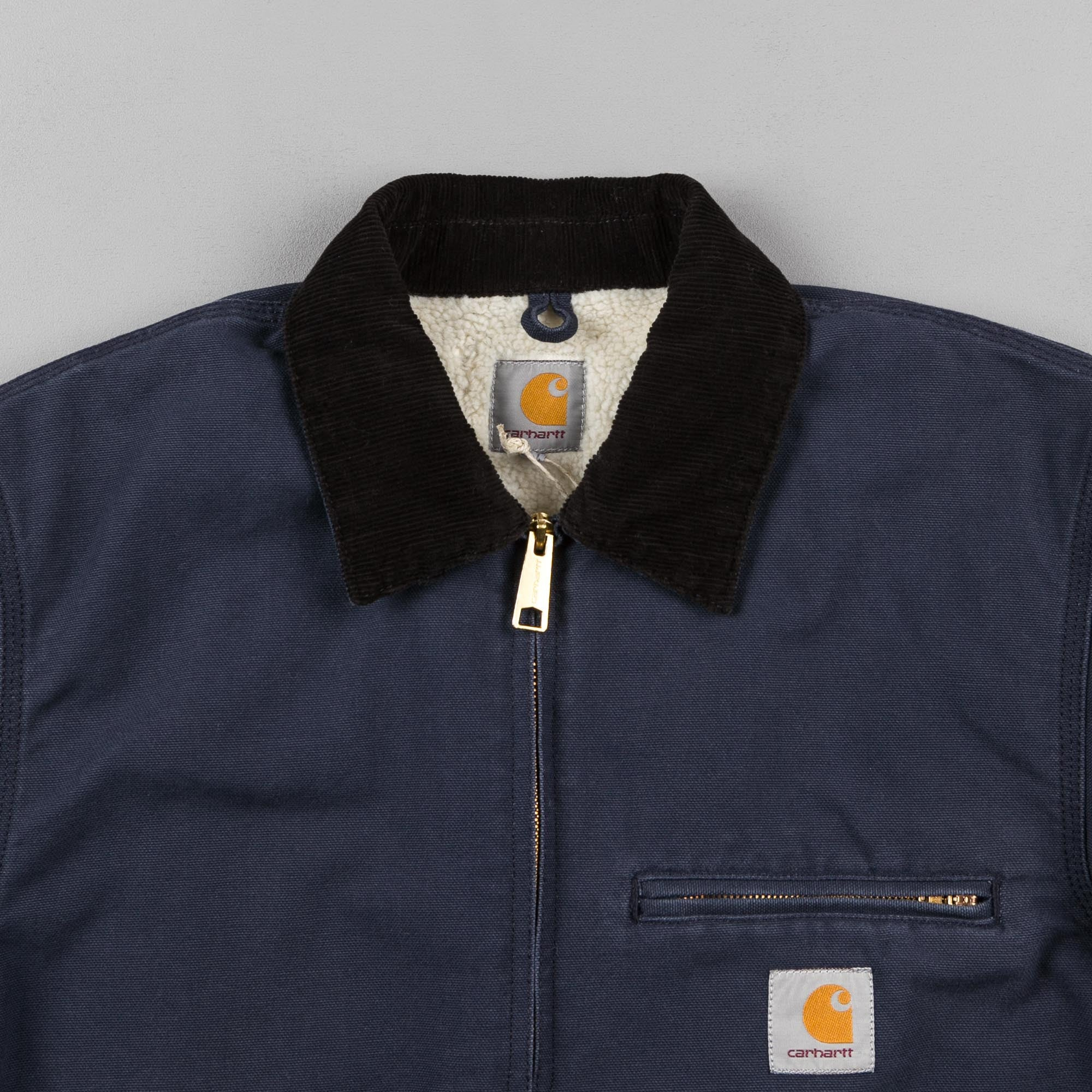 Carhartt Detroit Jacket - Navy / Black