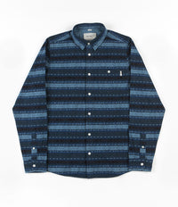 Carhartt Ethnic Long Sleeve Shirt - Blue