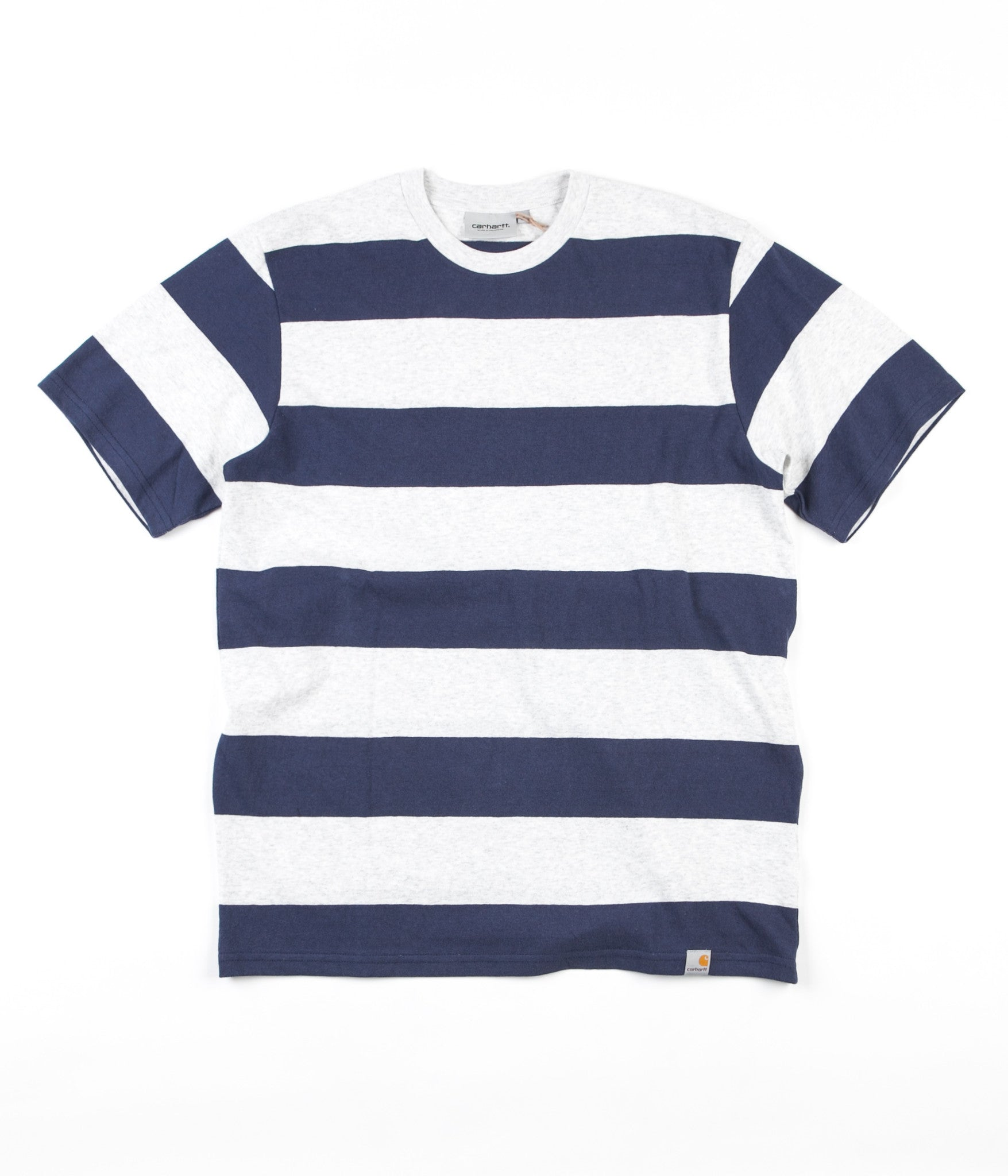 Carhartt Fisher T-Shirt - Fisher Stripe / Ash Heather