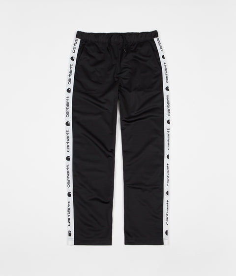 Carhartt Goodwin Track Pants - Black / White