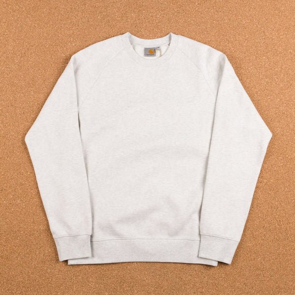 Carhartt Holbrook Crewneck Sweatshirt - Snow Noise Heather