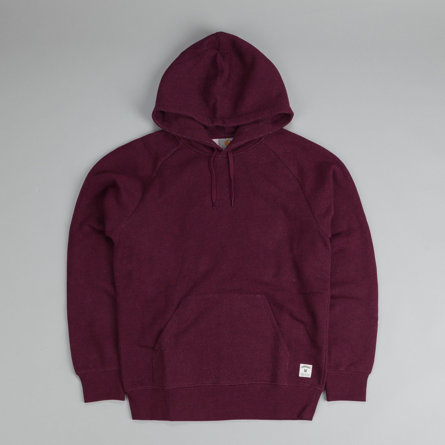 Carhartt Holbrook Hooded Sweatshirt Bordeaux Heather
