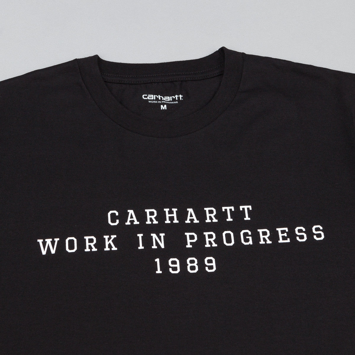 Carhartt Imprint T-Shirt - Black / White