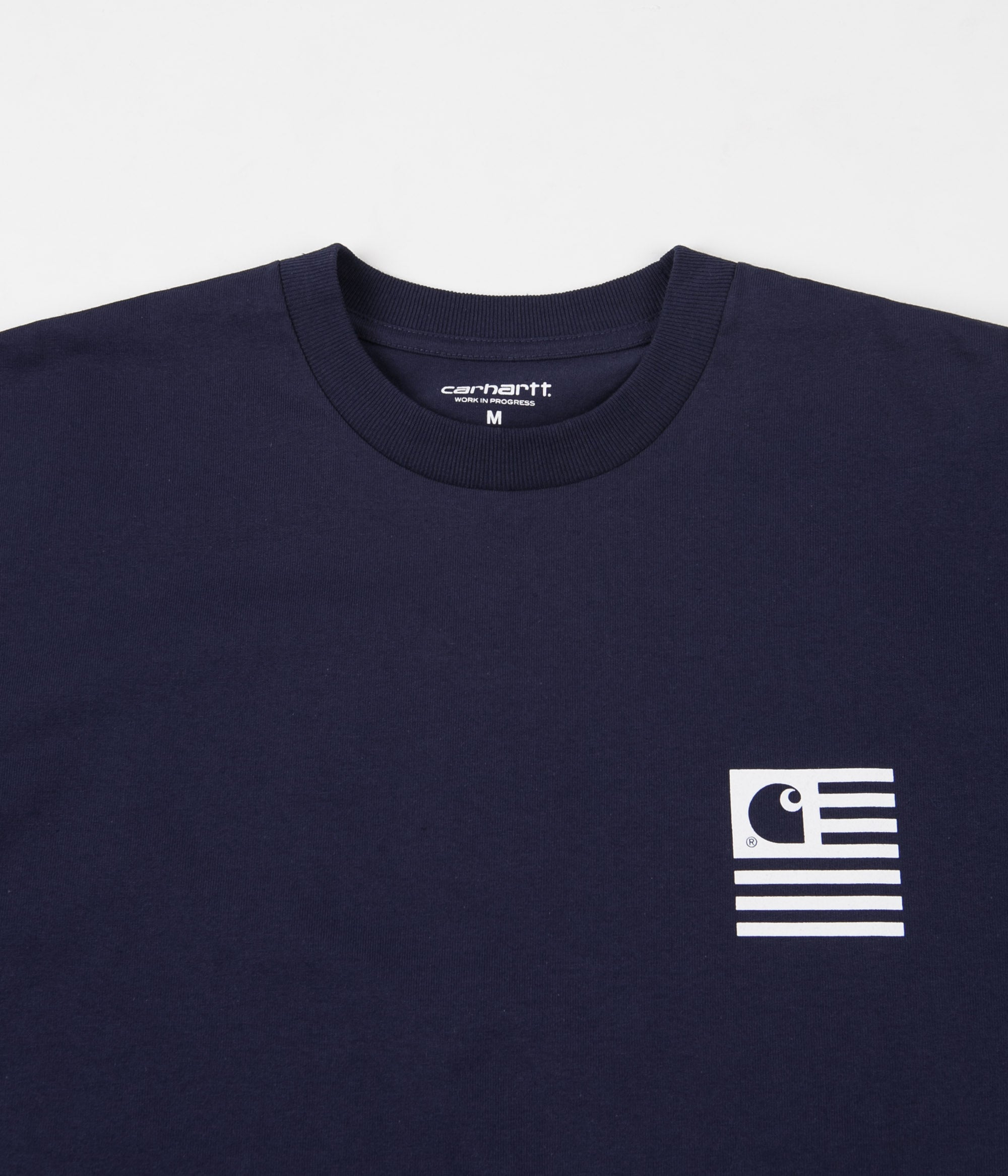 Carhartt Incognito T-Shirt - Blue / White / Black