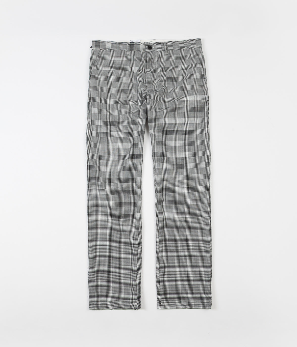 Carhartt Johnson Glencheck Pants - Black / White