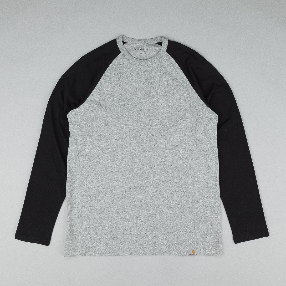Carhartt Long Sleeve Dodgers T Shirt Grey Heather / Black