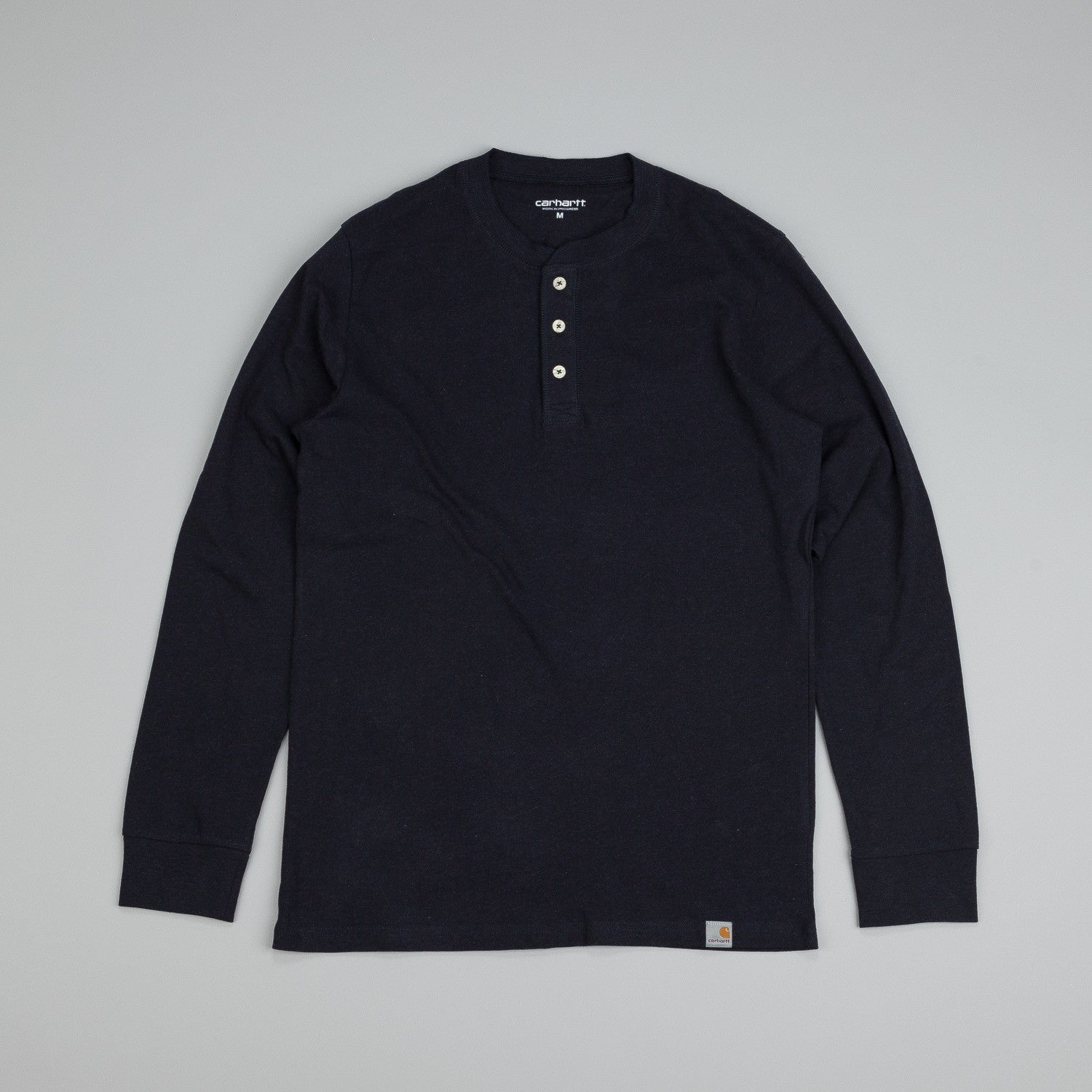 Carhartt L/S Henley T shirt Jet Heather
