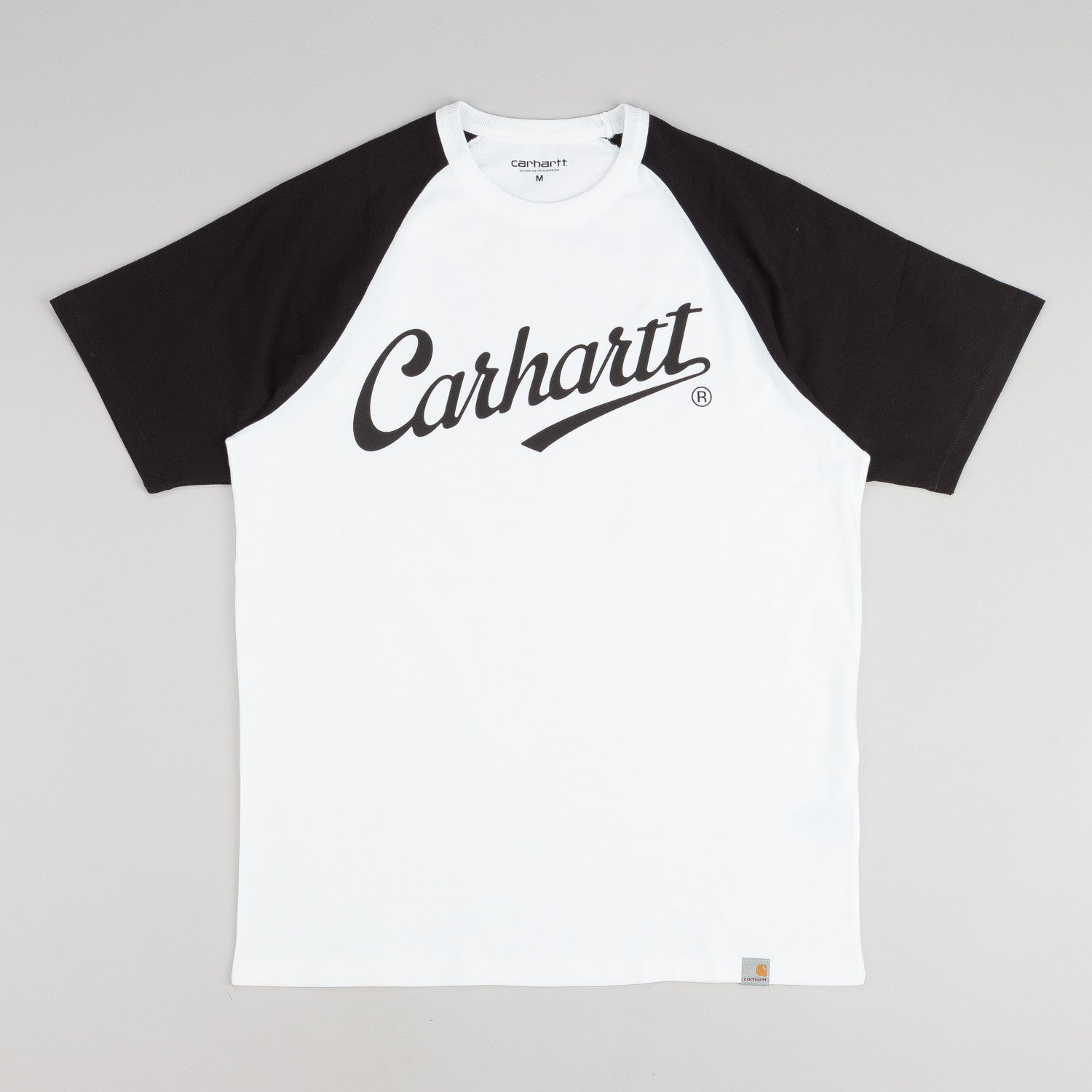 Carhartt League T-Shirt - White / Black