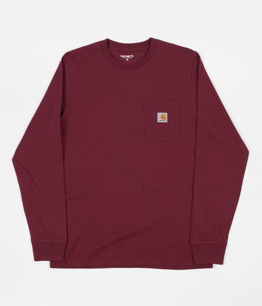 Carhartt Long Sleeve Pocket T-Shirt - Varnish