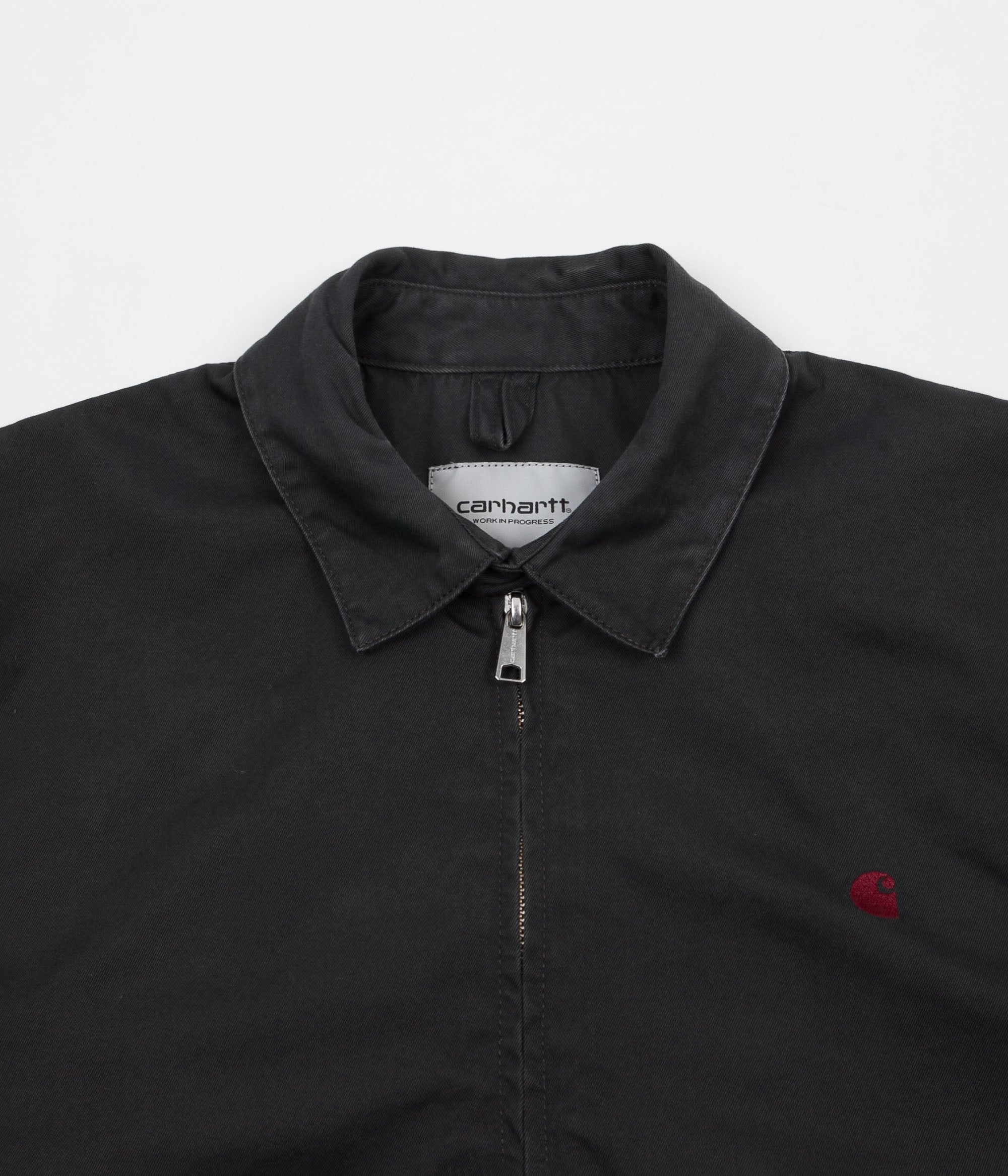 Carhartt Madison Jacket - Asphalt / Chianti