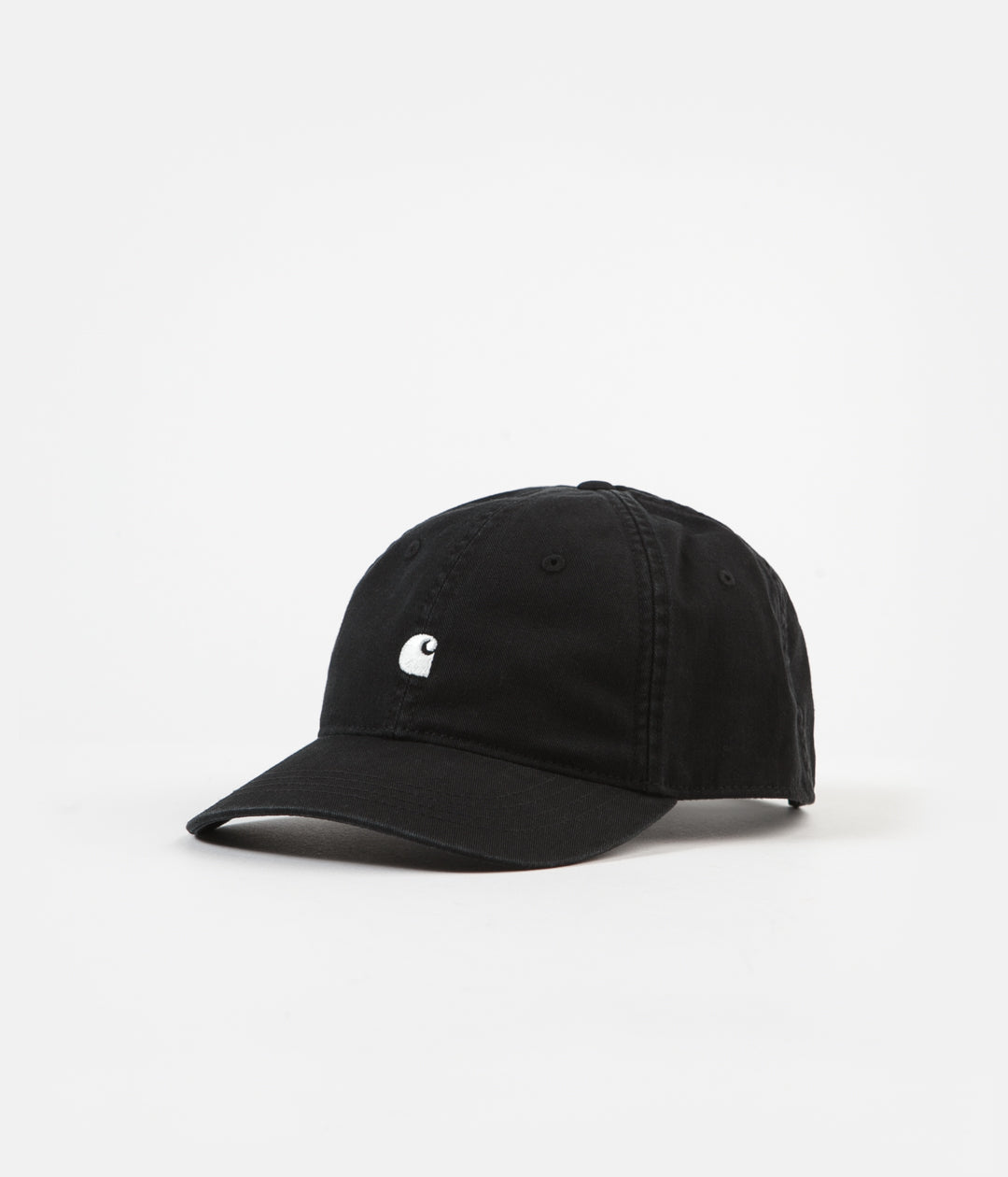 Carhartt Madison Logo Cap - Black / Wax