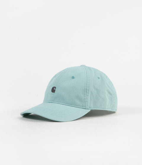 Carhartt Madison Logo Cap - Soft Aloe / Dark Navy