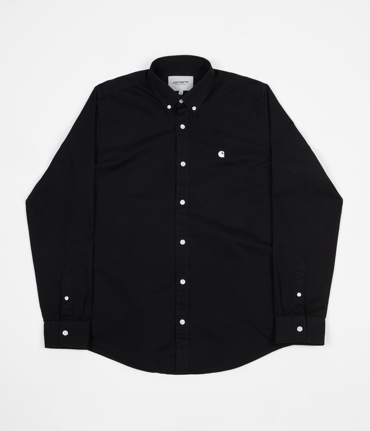 Carhartt Madison Shirt - Black / Wax