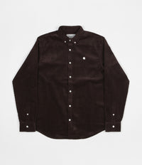 Carhartt Madison Cord Shirt - Tobacco / Wax