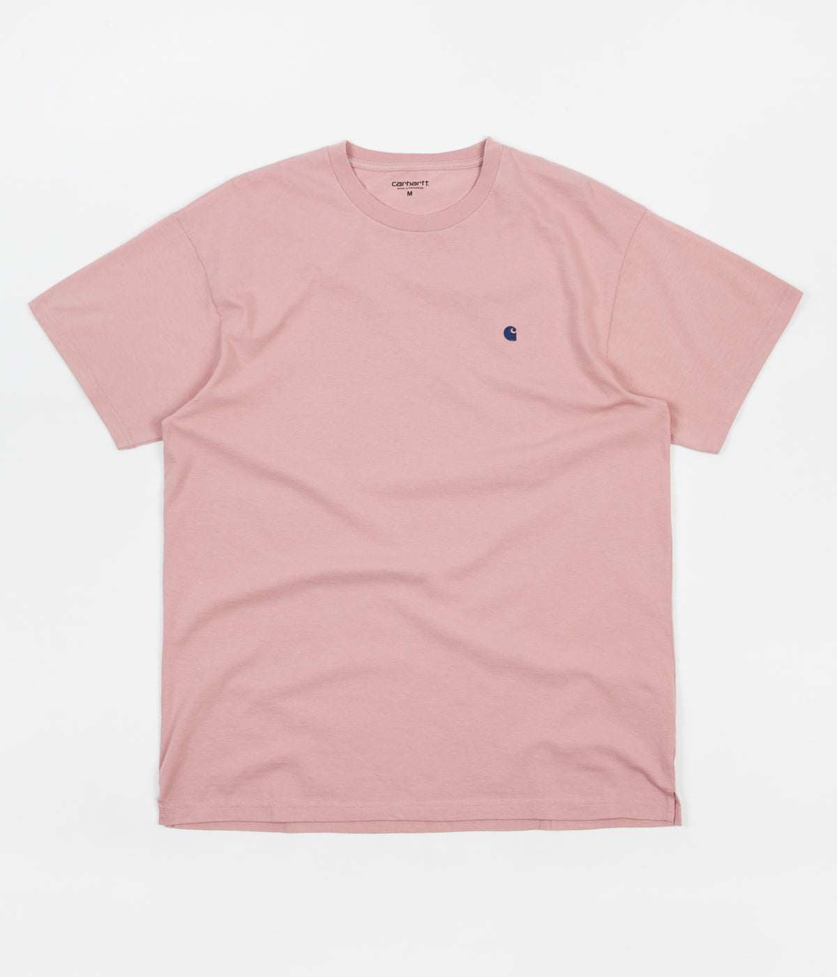 Carhartt Madison T-Shirt - Soft Rose / Sapphire