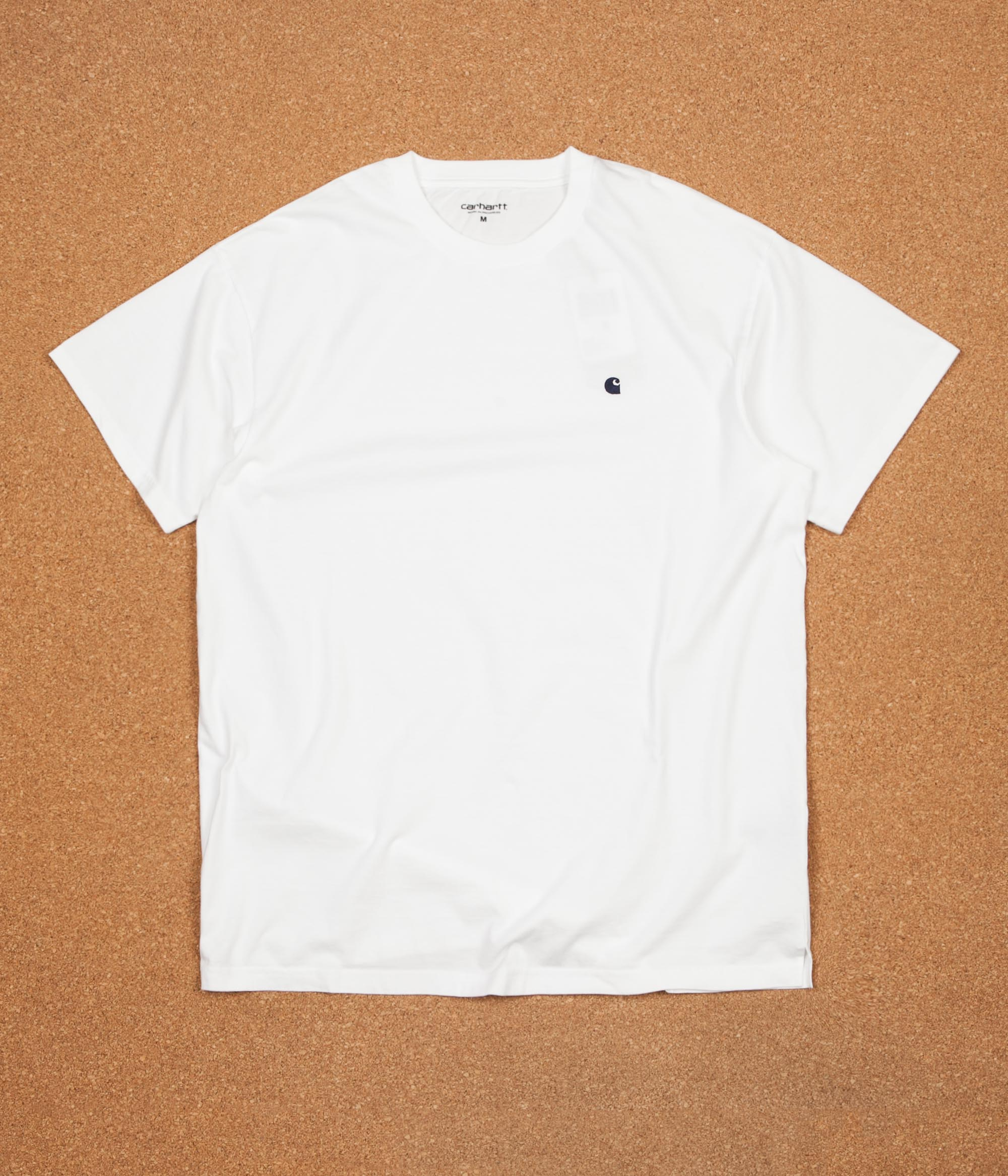 Carhartt Madison T-Shirt - White / Blue
