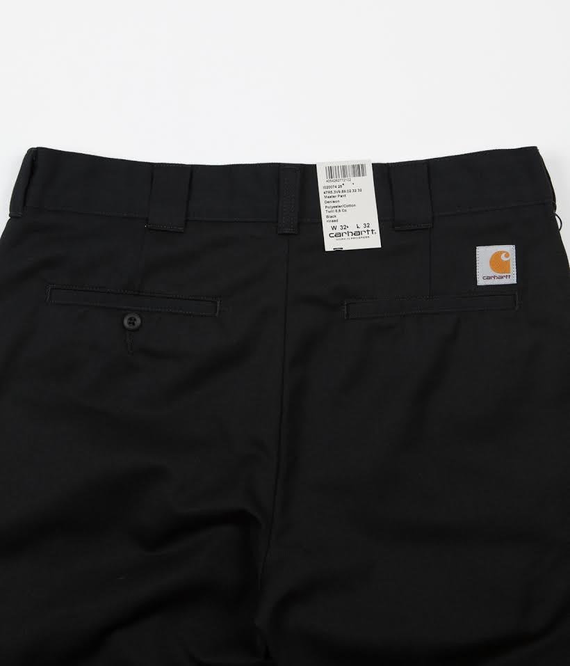 Carhartt Master Trousers - Black