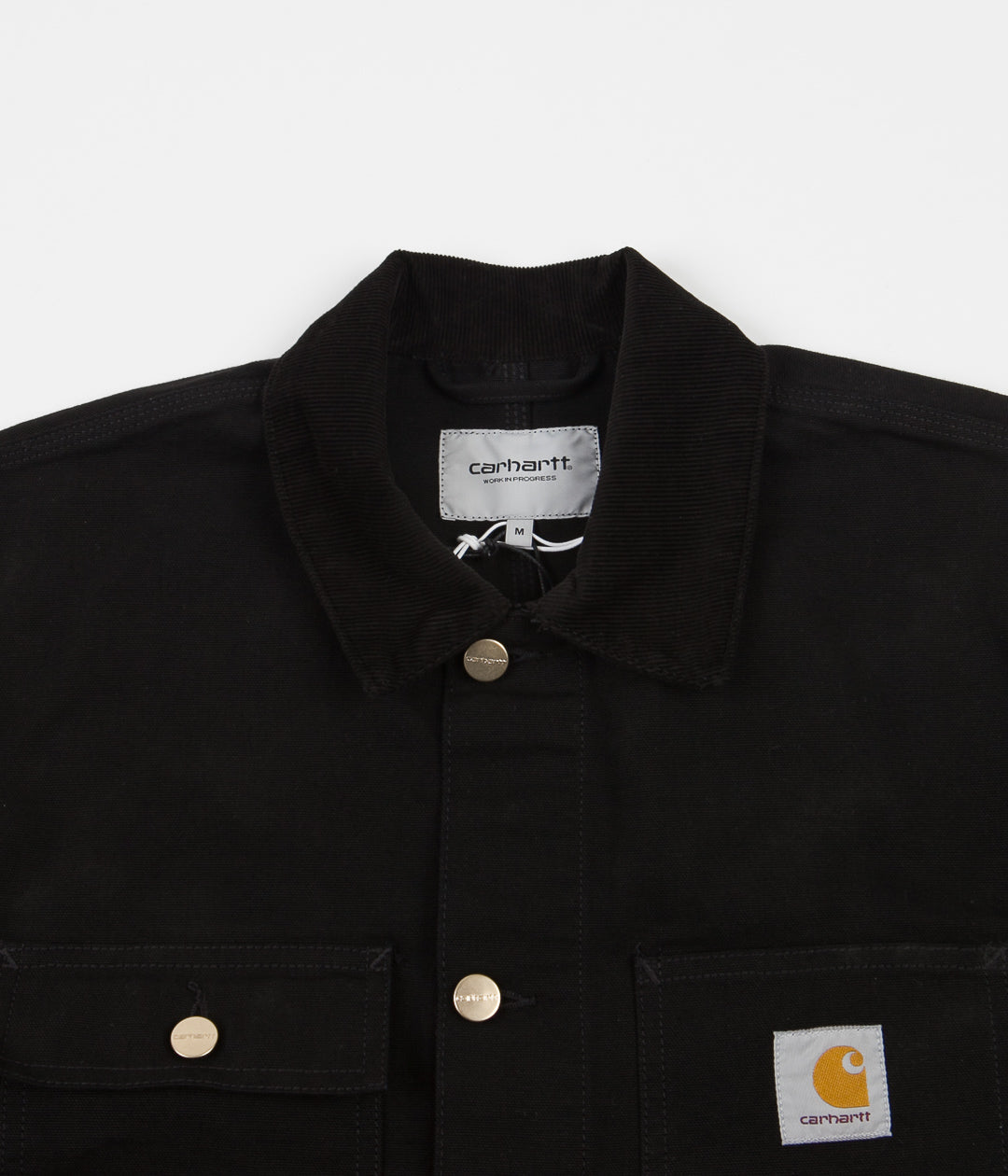 Carhartt Michigan Chore Coat - Black Rinsed