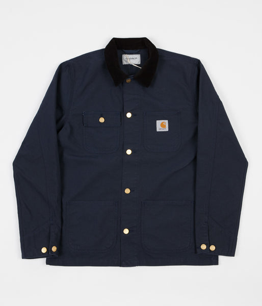 Carhartt Michigan Chore Coat - Navy / Black