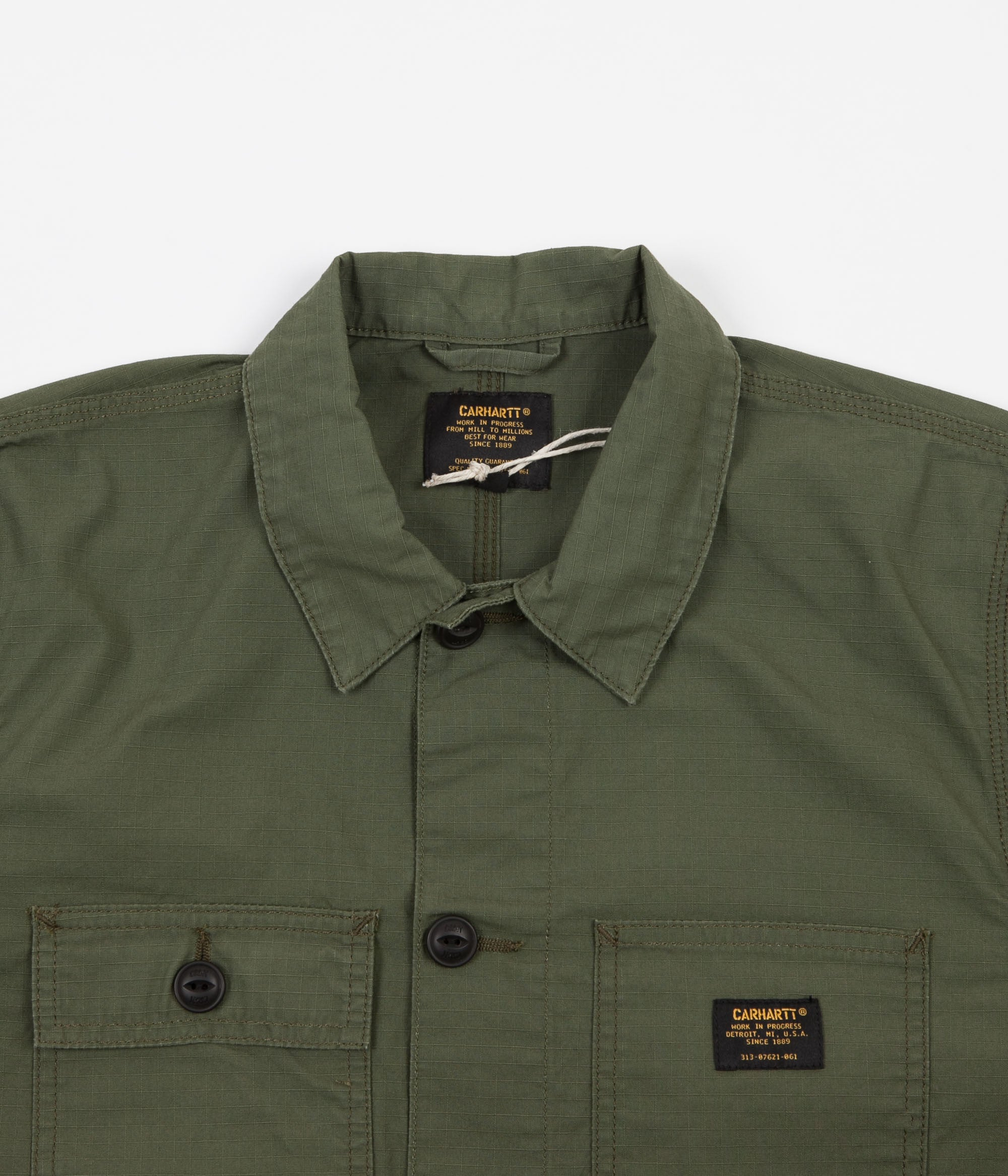 Carhartt Michigan Chore Coat - Rover Green