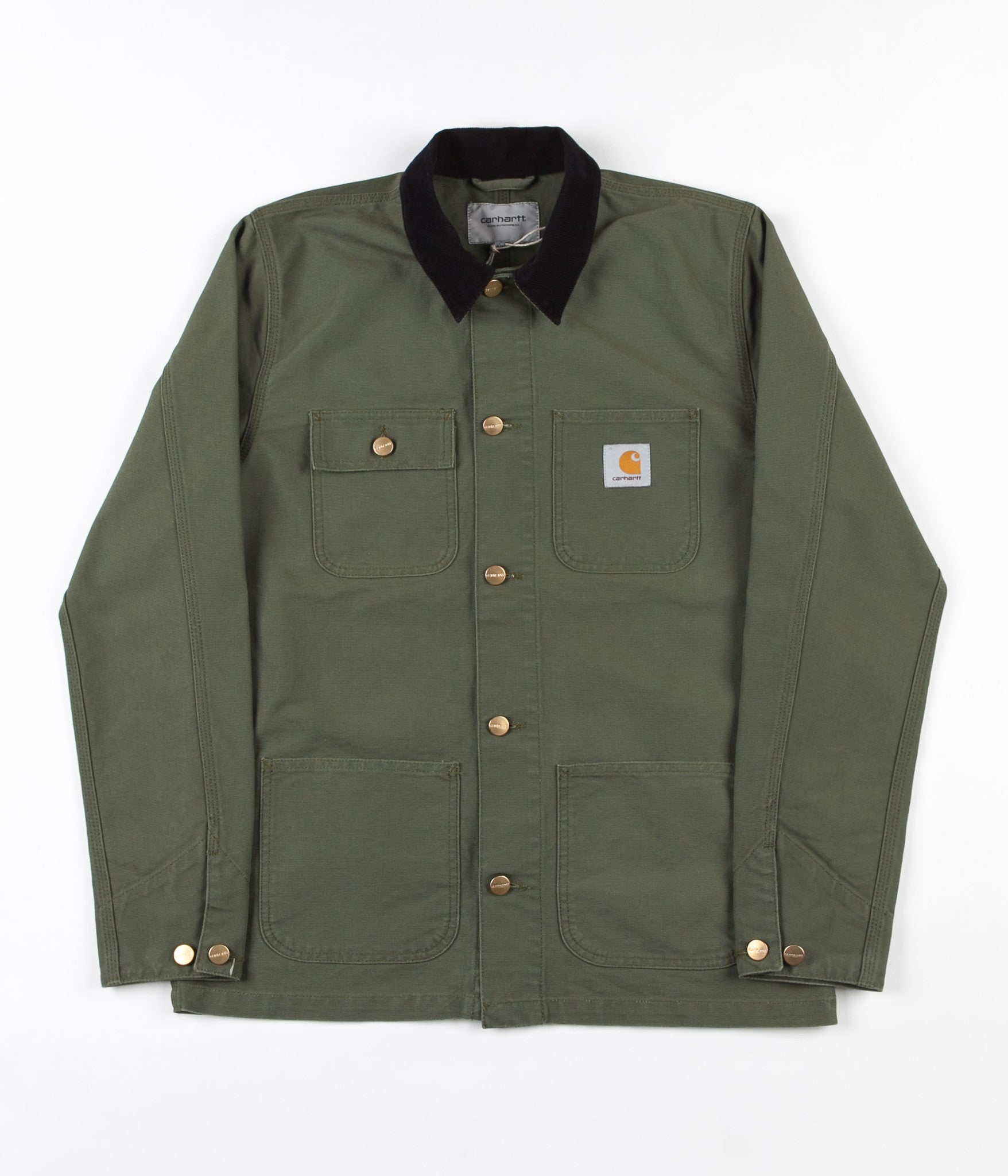Carhartt Michigan Chore Coat - Rover Green / Black