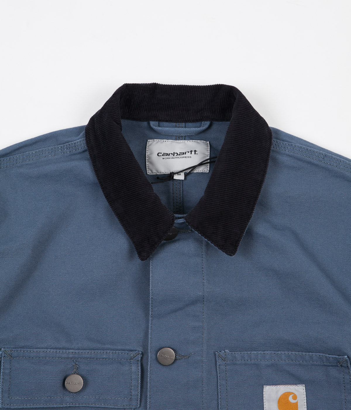 Carhartt Michigan Chore Coat - Stone Blue / Dark Navy