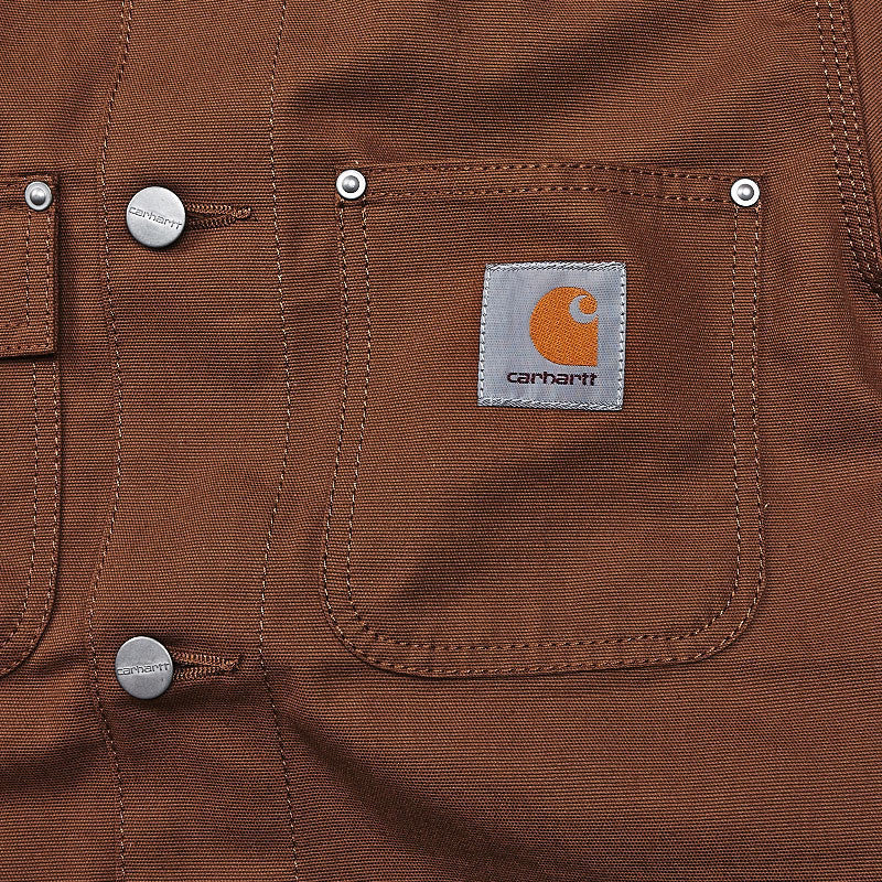 Carhartt Michigan Coat Carhartt Hamilton Brown Rigid