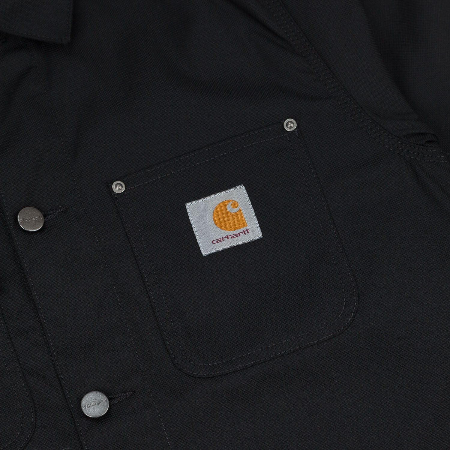 Carhartt Michigan Jacket Black Rigid