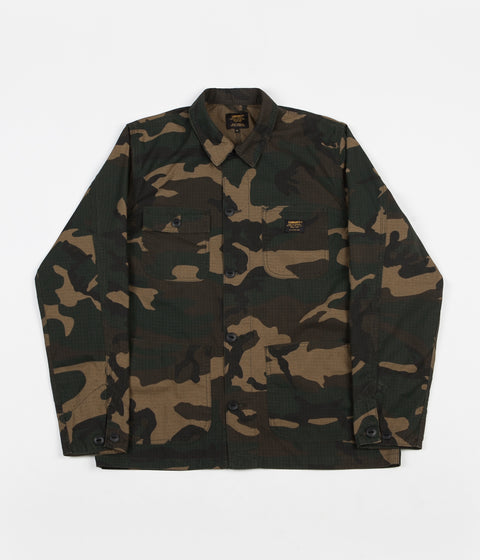 Carhartt Michigan Shirt Jacket - Camo Laurel