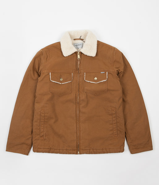 Carhartt Miles Jacket - Hamilton Brown