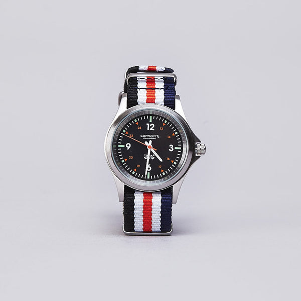 Carhartt Military Watch Brushed Navy / White / Black