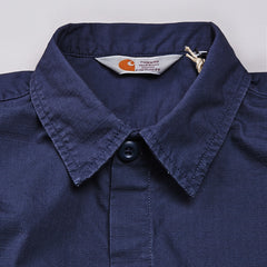 Carhartt Mission Long Sleeve Shirt Blue Penny Rinsed