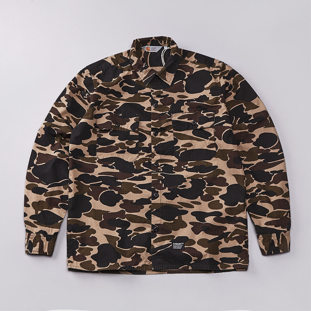 Carhartt Mission Long Sleeve Shirt Camo