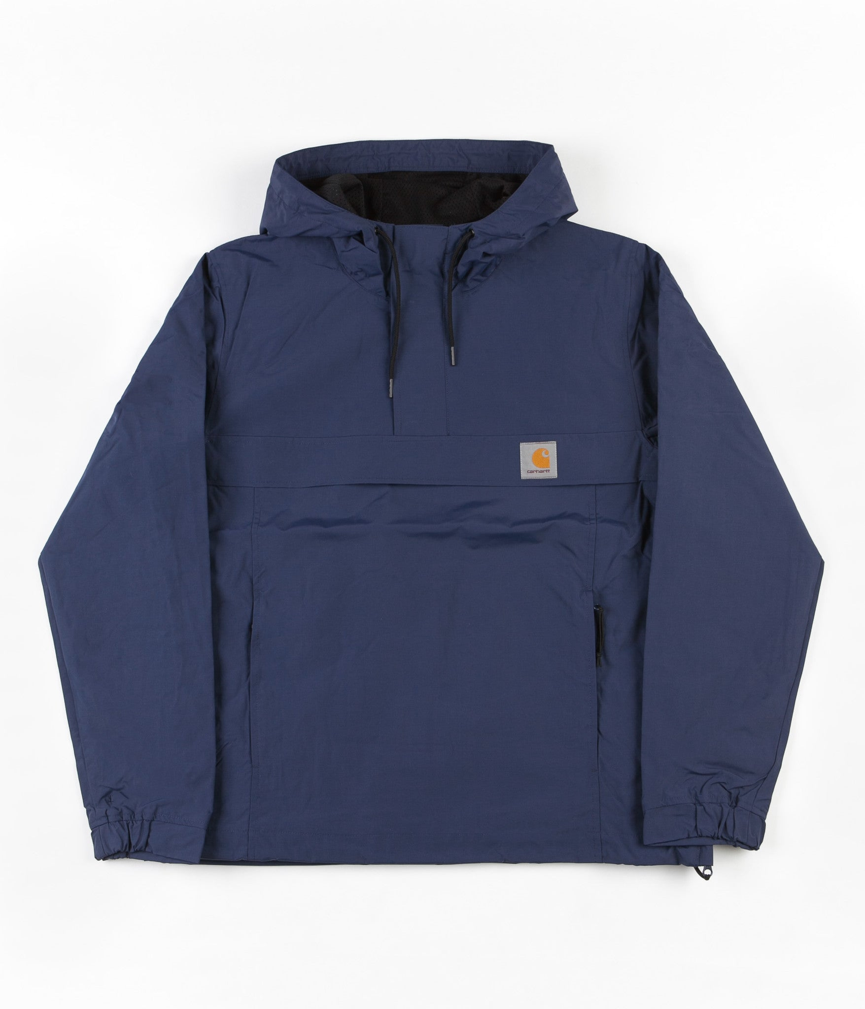carhartt nimbus summer pullover jacket navy flatspot. Black Bedroom Furniture Sets. Home Design Ideas