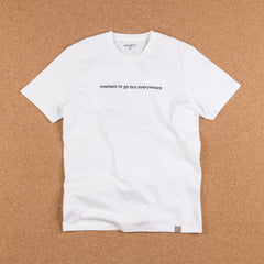 Carhartt Nowhere To Go T-Shirt - White