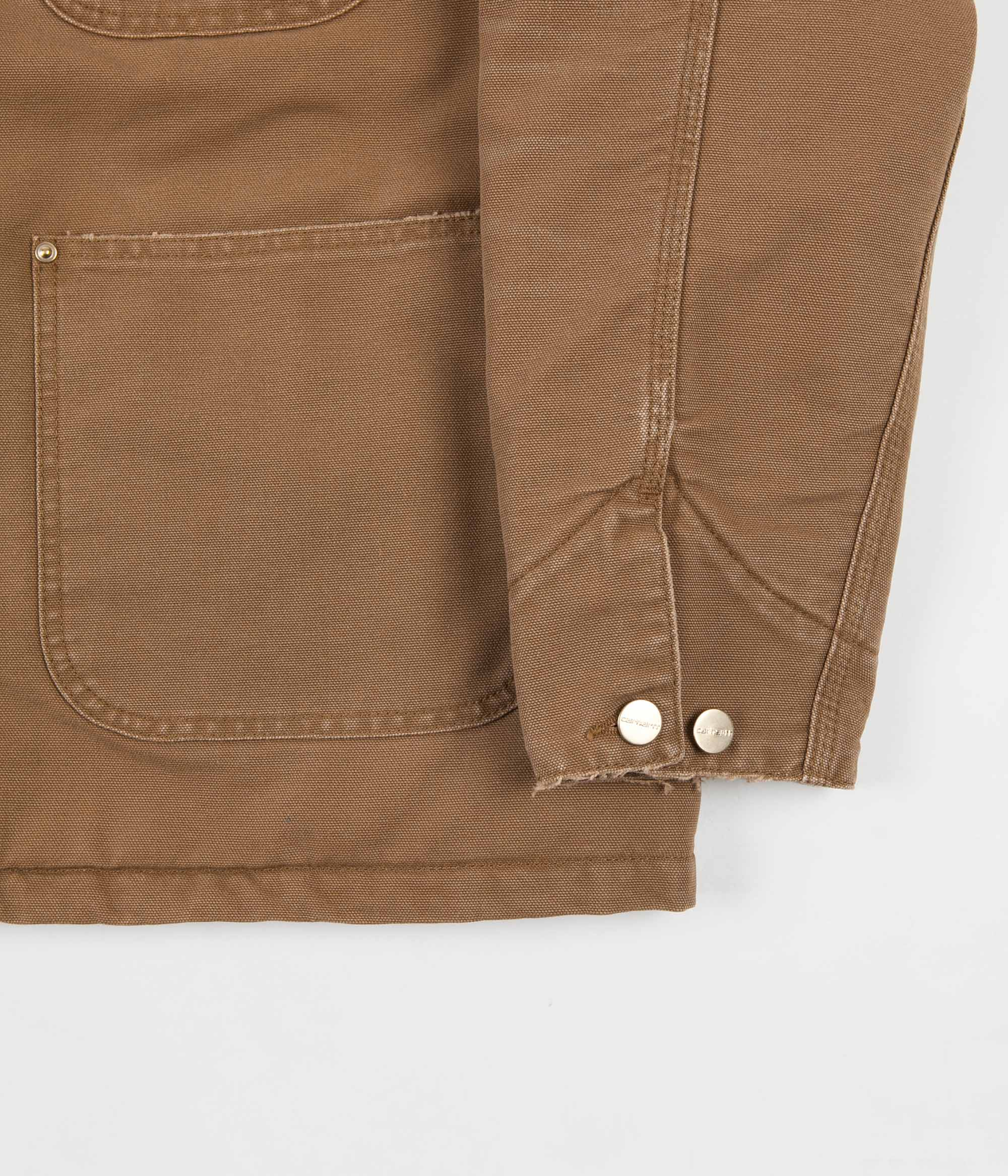 Carhartt OG Chore Coat - Hamilton Brown / Black
