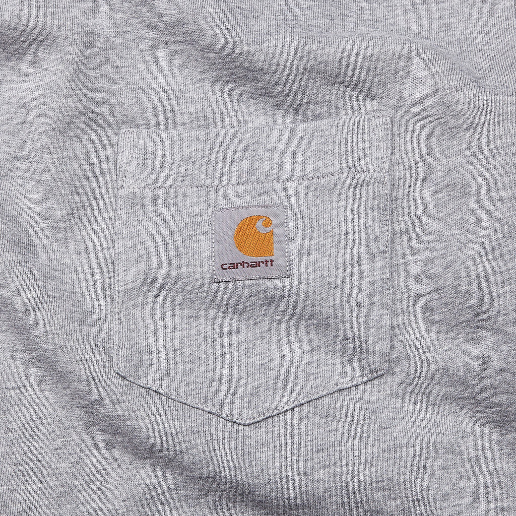 Carhartt Pocket Sweatshirt Grey Heather