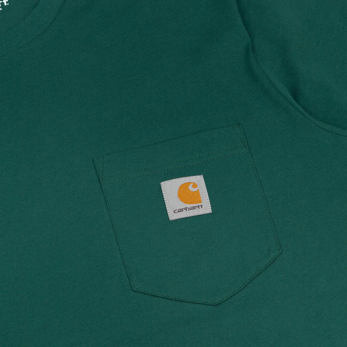 Carhartt Pocket T-Shirt - Bottle Green