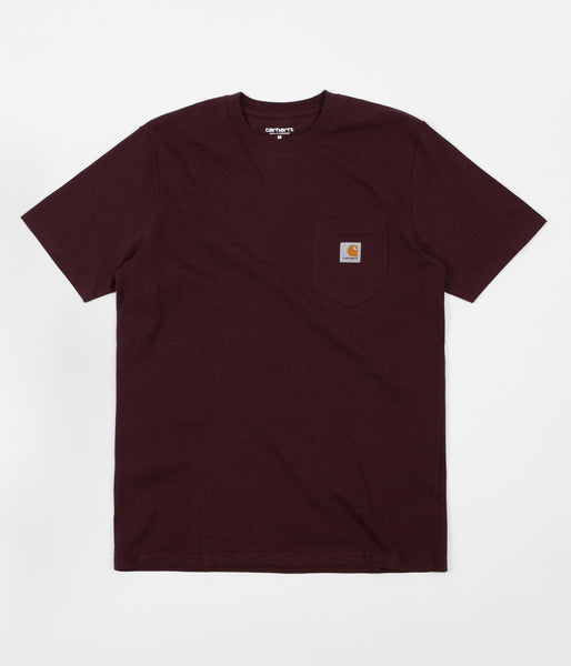 Carhartt Pocket T-Shirt - Damson Heather