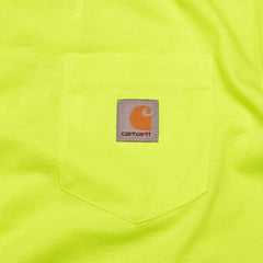 Carhartt Pocket T Shirt Fluo Yellow