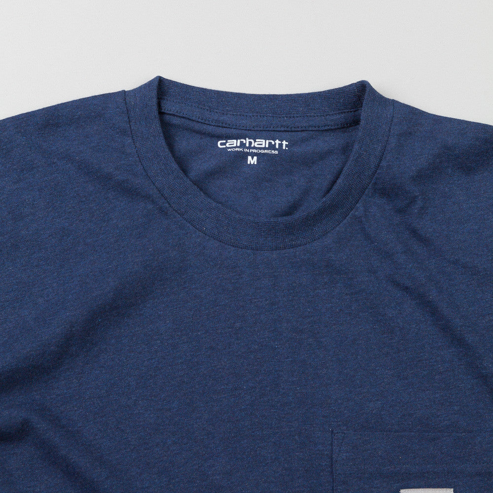 Carhartt Short Sleeve Pocket T Shirt Jupiter Heather