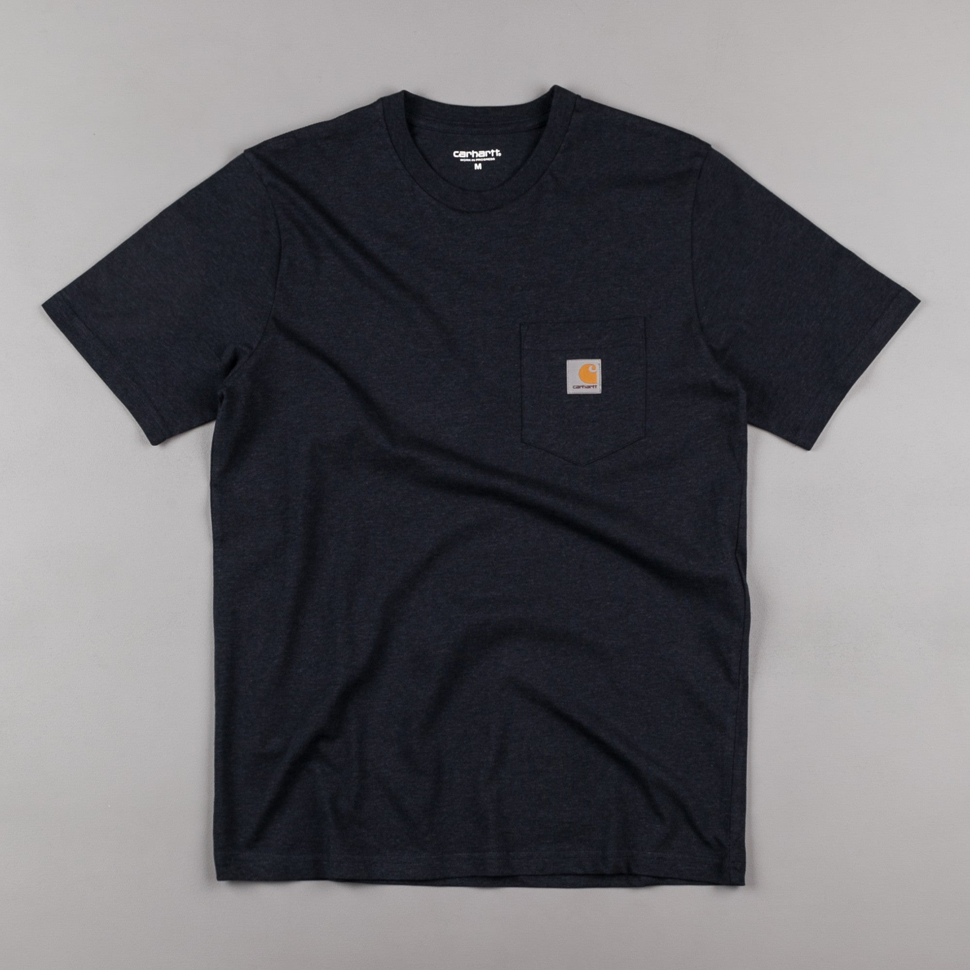Carhartt Pocket T-Shirt - Navy Heather