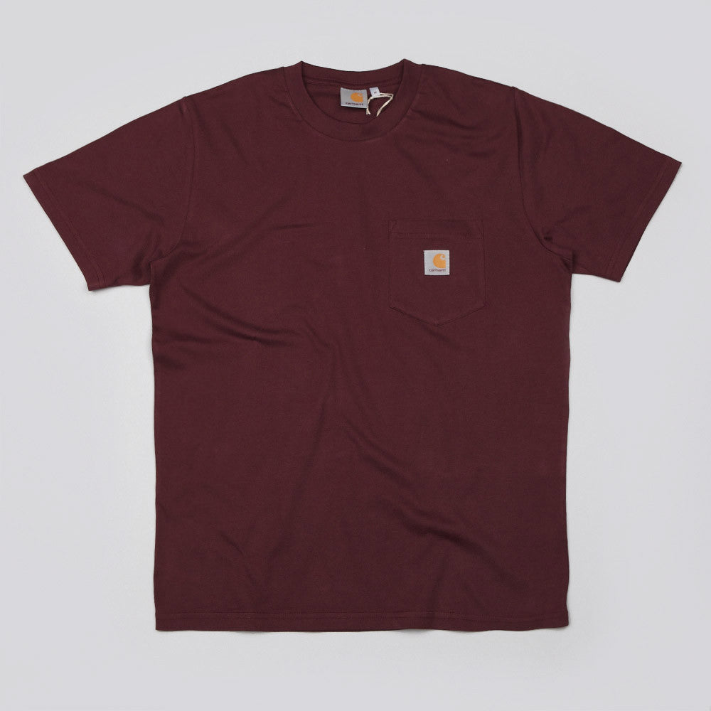 Carhartt Pocket T Shirt Wine