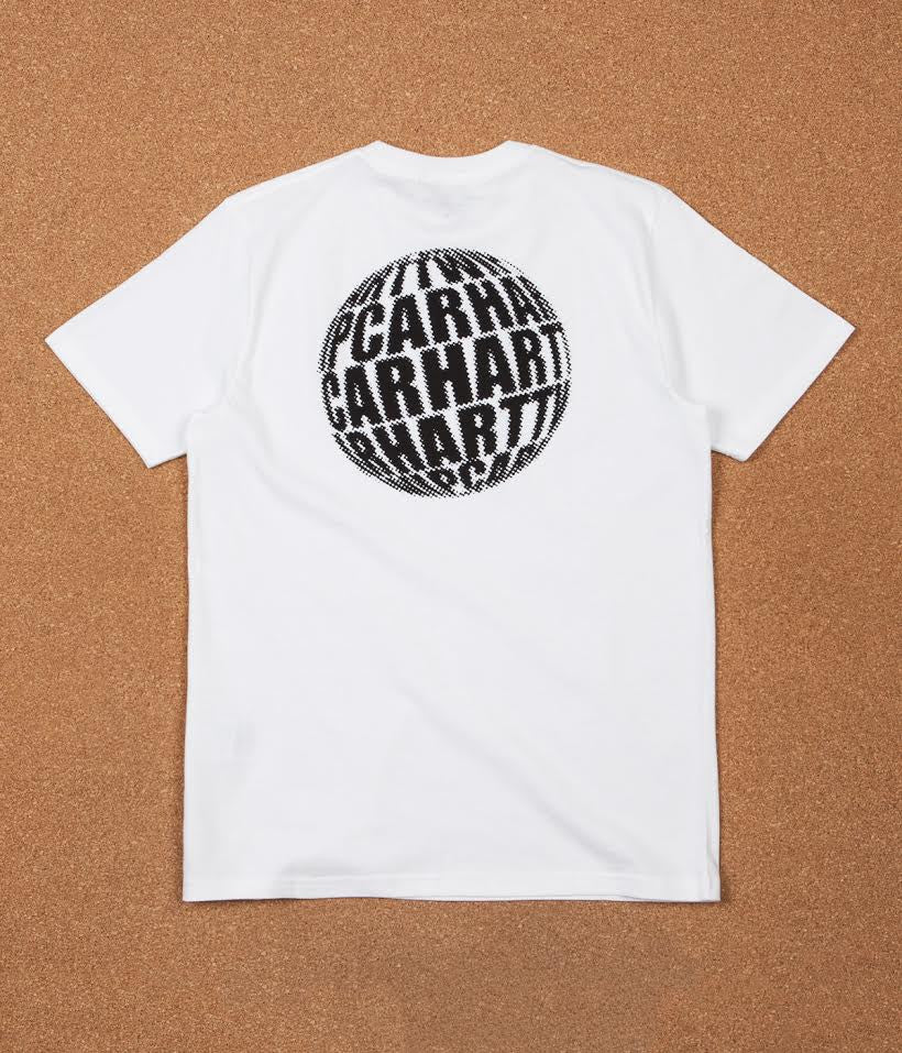 Carhartt Post Problemist T-Shirt - White / Black